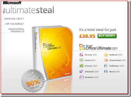 microsoft office 2007 ultimat