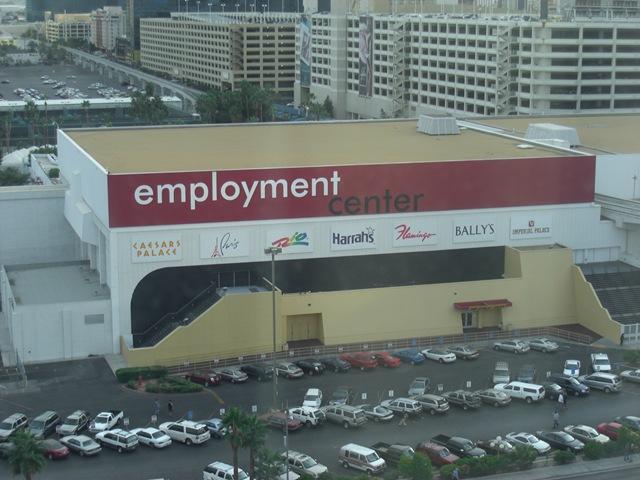 Las vegas casino employment center